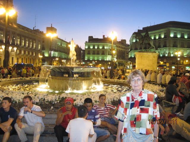 Spania vazuta de un turist scoica for Plaza puerta del sol